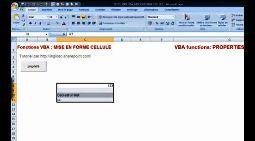 Excel mise en forme VBA sur cellule sur police