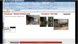 Excel 2007 faire une image interactive