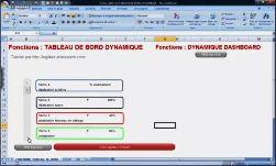 Excel 2007 tableau de bord dynamique
