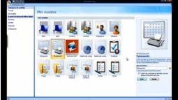 Access 2007 créer une base de données à partir d'un modèle