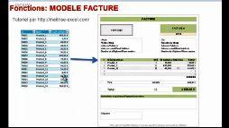 Excel 2007 modèle de facture