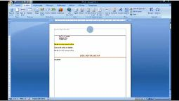 Word 2007 exploiter organisateur de bloc de construction