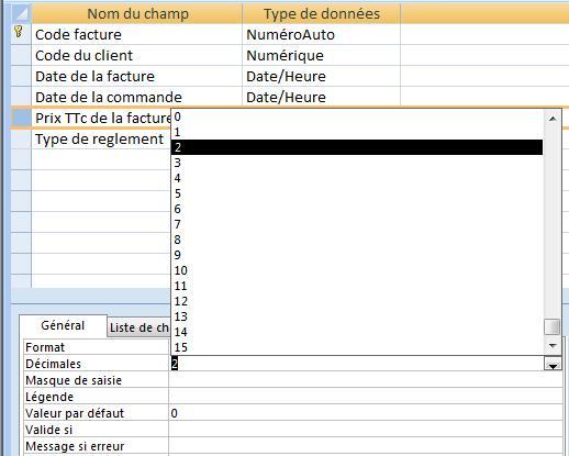 ACCESS_CHANGER_LE_NOMBRE_DE_DECIMALES