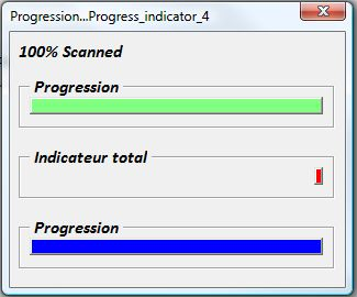 EXCEL 2007 VBA BARRE DE PROGRESSION PUB
