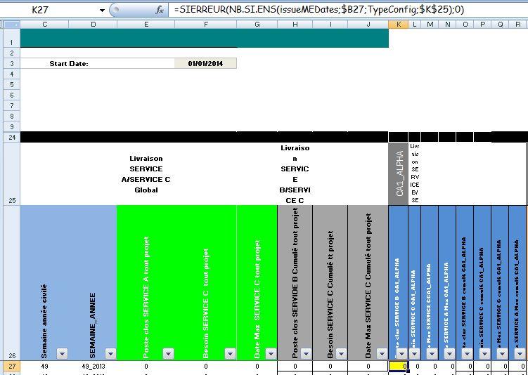 Excel 2007 : Comment faire avec excel 2007 une courbe de délais de livraison en moins de 6 min.