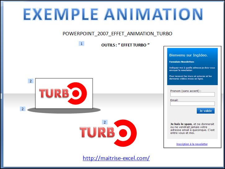 POWERPOINT_2007_EFFET_ANIMATION_TURBO