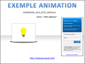 POWERPOINT_2013_EFFET_ANIMATION_AMPOULE_2