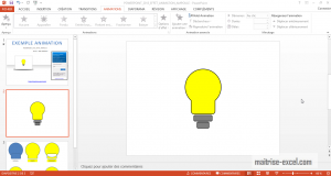 POWERPOINT_2013_EFFET_ANIMATION_AMPOULE
