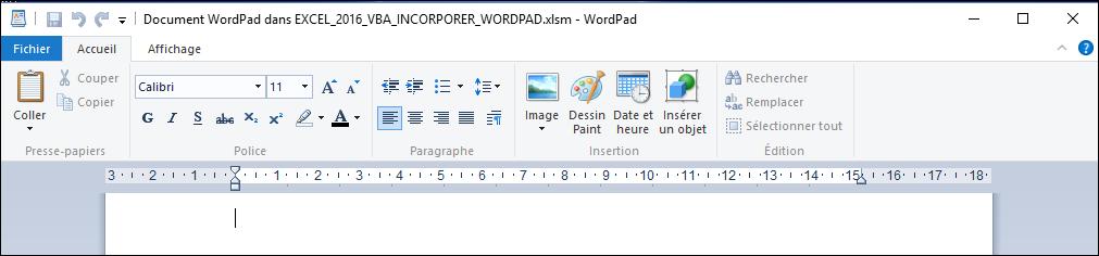 excel 2013   comment lancer wordpad en moins de 6 min avec