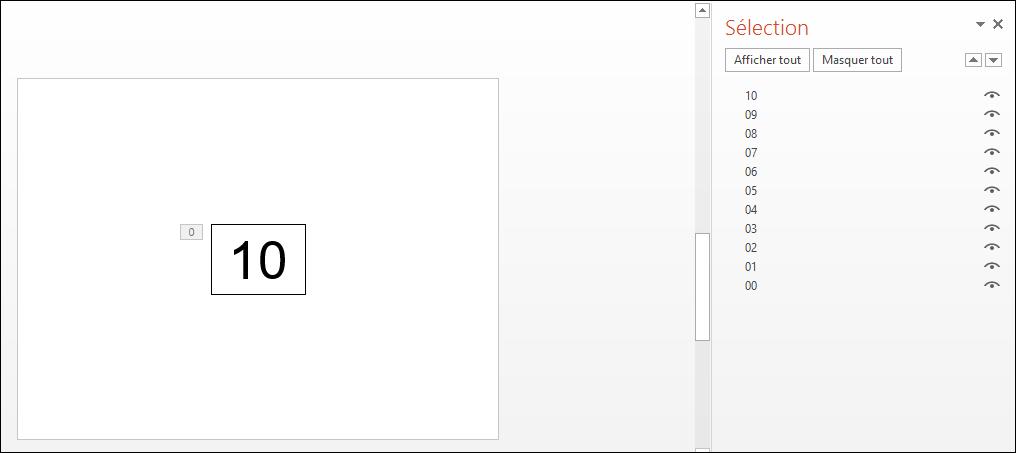 POWERPOINT_2013_EX_DECOMPTE_PROCEDURE_QUALITE Powerpoint 2013 : Comment faire un effet décompte sur Powerpoint en moins de 6 min.