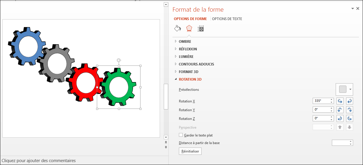 POWERPOINT_2013_EX_ENGRENAGE_V3D Powerpoint 2013 : Comment faire un engrenage 3D sur Powerpoint en moins de 8 min.