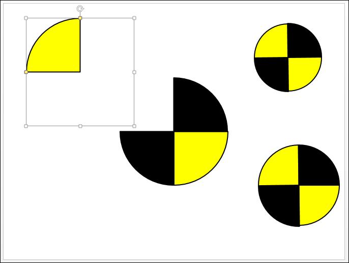 POWERPOINT_2013_EX_LOGO_COBAYE Powerpoint 2013 : Comment faire le logo de On n'est pas que des cobayes sur Powerpoint en moins de 5 min.