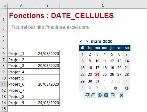 Excel 365 : Comment insérer une date avec extension date picker dans une cellule sur Excel en moins de 3 min.