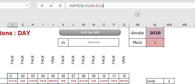 Excel 365 : Comment faire une mise en forme conditionnelle sur jour de semaine sur Excel en moins de 7 min.