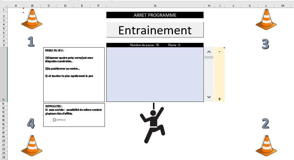 Excel 365 : Comment avoir un coach sportif chez soi avec Excel en moins de 15 min.